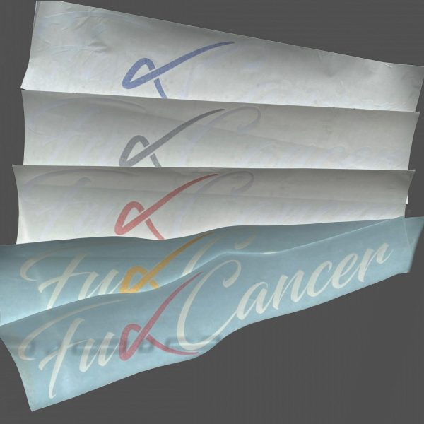 F Cancer Sticker Selection